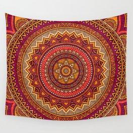 Hippie mandala 33 Wall Tapestry