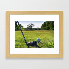 Iron Work Framed Art Print