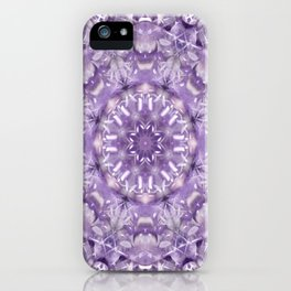 AMETHYST MANDALA iPhone Case