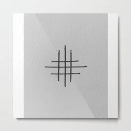 """""""Crosshair"""" Metal Print"""