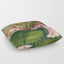 Serenity Garden Floor Pillow