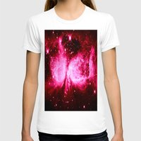 hot pink T-shirts featuring A Star is Born : Hot Pink Galaxy by GalaxyDreams