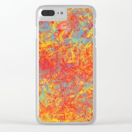 Abstract XXI Clear iPhone Case