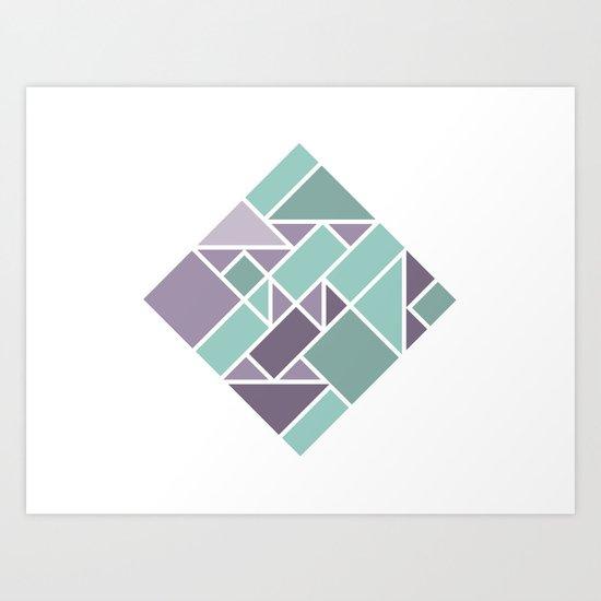 Shapes 006 Art Print