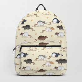 Rat colors and markings Backpack
