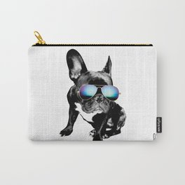 SUMMER FRENCH BULLDOG Carry-All Pouch