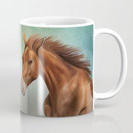 Drawing portrait horse Coffee Mug