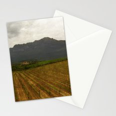 Rioja vineyards, spain, late spring Stationery Cards