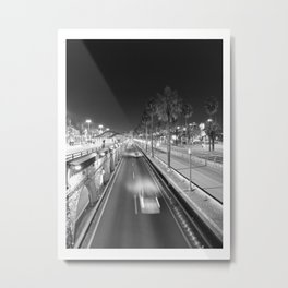 Run no curves Metal Print