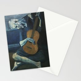 Pablo Picasso - The Old Guitarist Stationery Cards