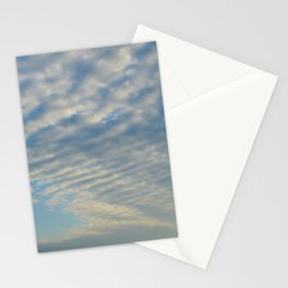 Cirrusly Stratus Waves Stationery Cards