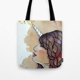 unicorn girl Tote Bag