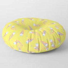 Pattern of Paranoia Floor Pillow
