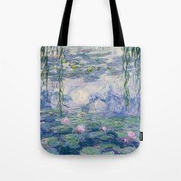 Water Lilies Claude Monet Fine Art Tote Bag