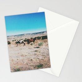 Wild horses, Nevada Stationery Cards