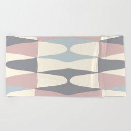 Zaha Pastel Beach Towel