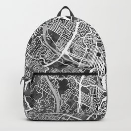Austin Texas City Map Backpack