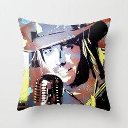 Tom Petty. legend. painting. print. Throw Pillow