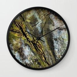 Rotten Cross Section Wall Clock