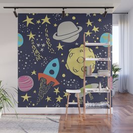 Gagarin Wall Mural
