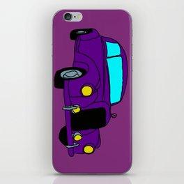 The Purple Car iPhone Skin