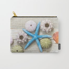 Blue Starfish and Friends Carry-All Pouch