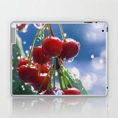 Summer rain on cherries Laptop & iPad Skin