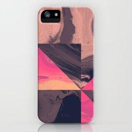 Triangular Magma iPhone Case
