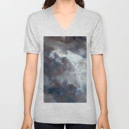 "John Constable ""A Cloud Study"" 10. Unisex V-Neck"