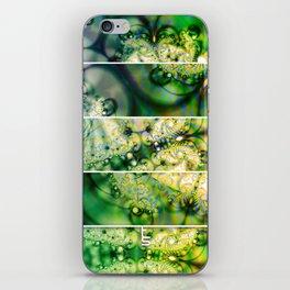 Emerald Universe (Five Panels Series) iPhone Skin