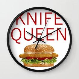 KNIFE QUEEN Wall Clock