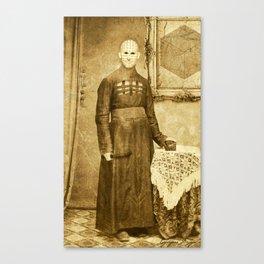 Dark Victorian Portrait Series: The Hierophant Canvas Print