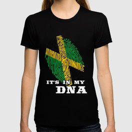 Jamaica - ItS In My Dna T-shirt
