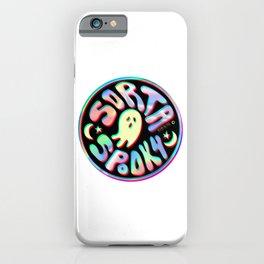 Holo Sorta Spooky © iPhone Case