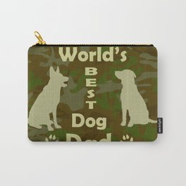 World's Best Dog Dad Carry-All Pouch