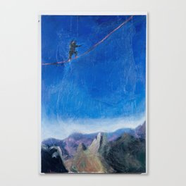 Chasing Highlines Canvas Print