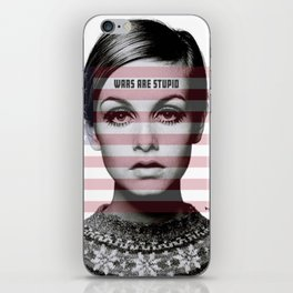 Wars are Stupid iPhone Skin