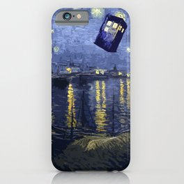 Doctor Who 011 iPhone Case