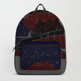 Gold-Flecked & Star-Speckled Backpack