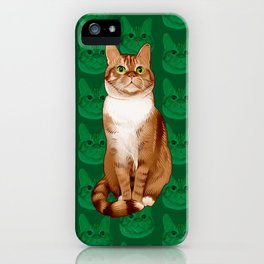 Roswell the Cat iPhone Case