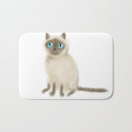 Chocolate Point Siamese Bath Mat