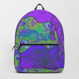 Purple Ganesha Backpack