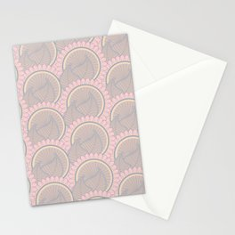 Henna Art Paisleys Stationery Cards
