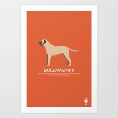 Bullmastiff Art Print