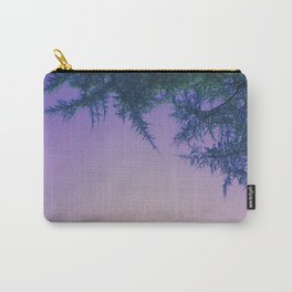 Lavender Skies, Green Trees Carry-All Pouch