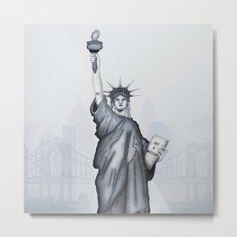 Statue of Liberty, USA Metal Print