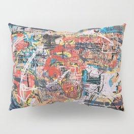 World Mapsqiuat Pillow Sham