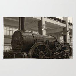 Stephenson's Rocket Rug