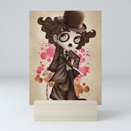 The Little Tramp Mini Art Print