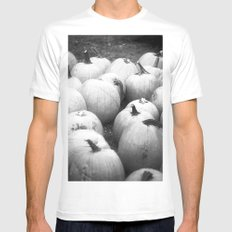 Pumpkin Patch Mens Fitted Tee MEDIUM White